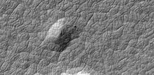 Espirales de lava en Athabasca Valles.