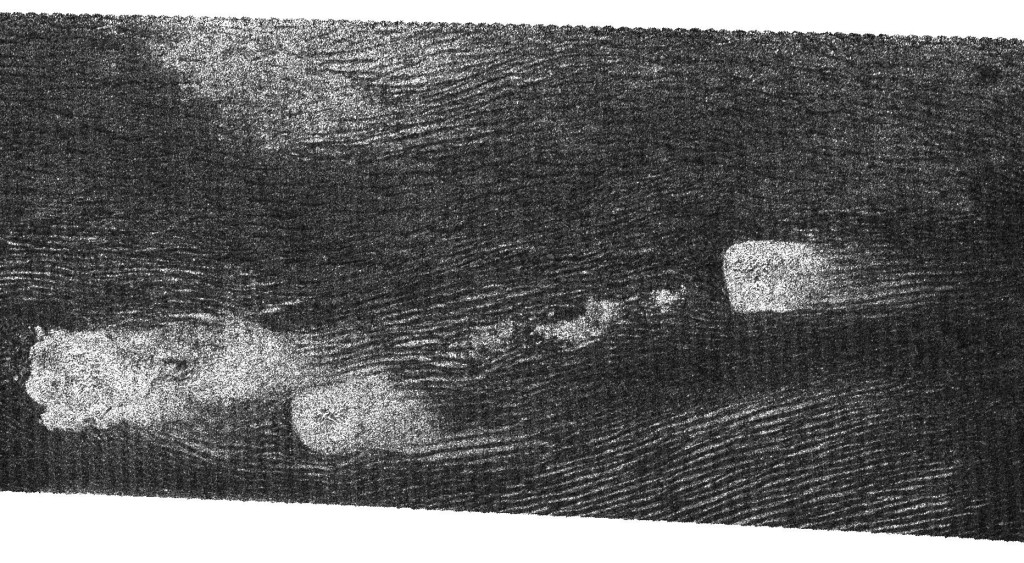 Dunas longitudinales fotografiadas gracias al radar de la Cassini en 2006. NASA/JPL-Caltech/ASI.