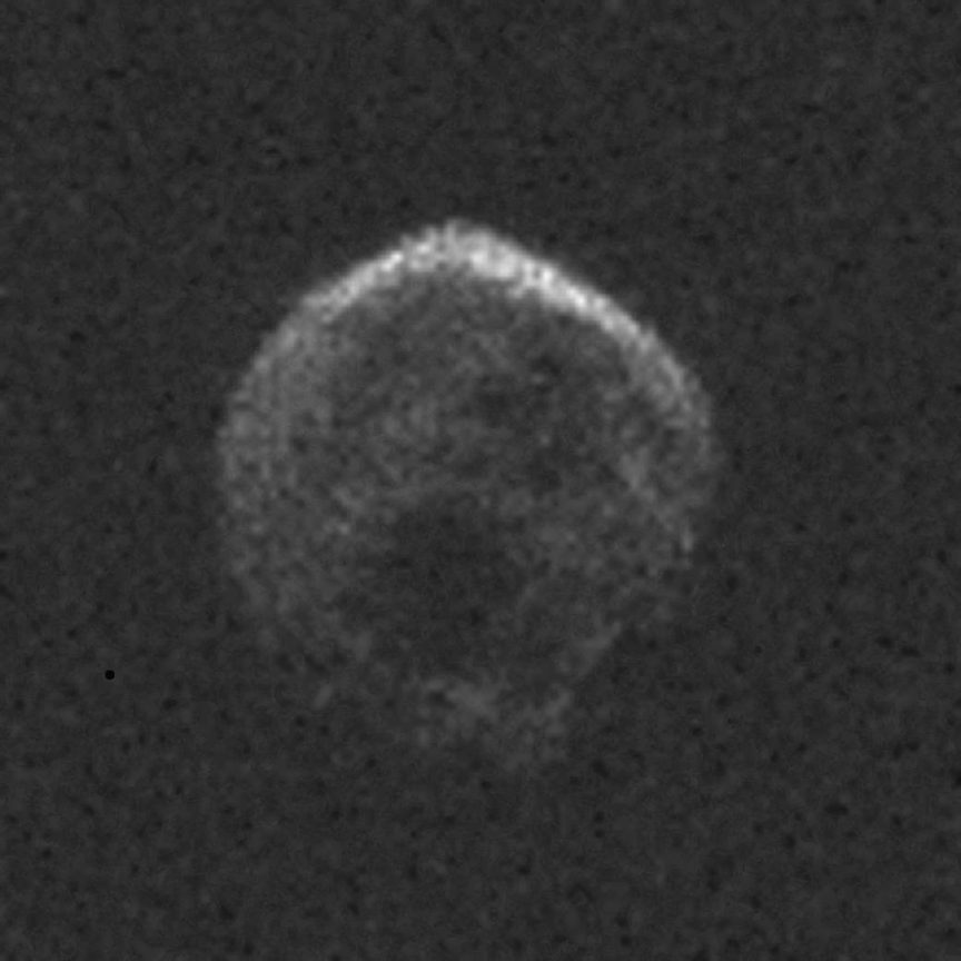 Asteroide captado por el Observatorio de Arecibo.
