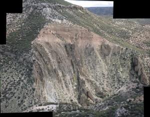 Discordancia Cretácico-Mioceno