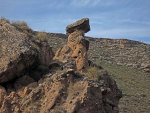 Chimenea de Hadas en las proximidades de Gorafe (Granada)