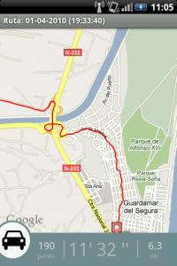 Un recorrido grabado en AndAndo