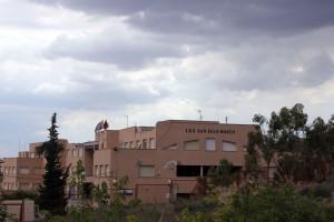 Daños en un instituto de educación secundaria en Lorca.