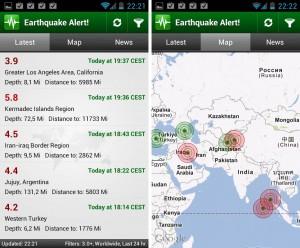 Captura de Earthquake Alert!