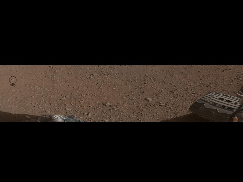 ¿El primer objetivo de ChemCam?. NASA/JPL-Caltech
