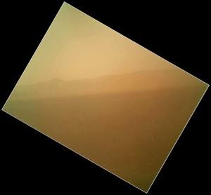 La primera imagen tomada por MAHLI. NASA/JPL.