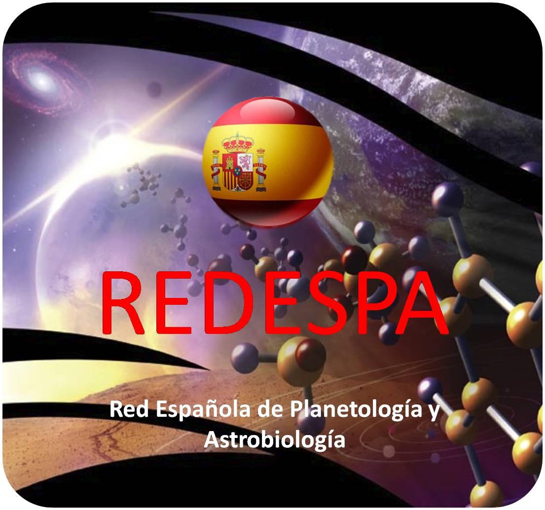 Logo de la Red Española de Planetología y Astrobiología.