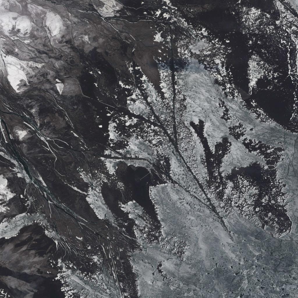 ¿Para que servirán estos canales?. Landsat/NASA.