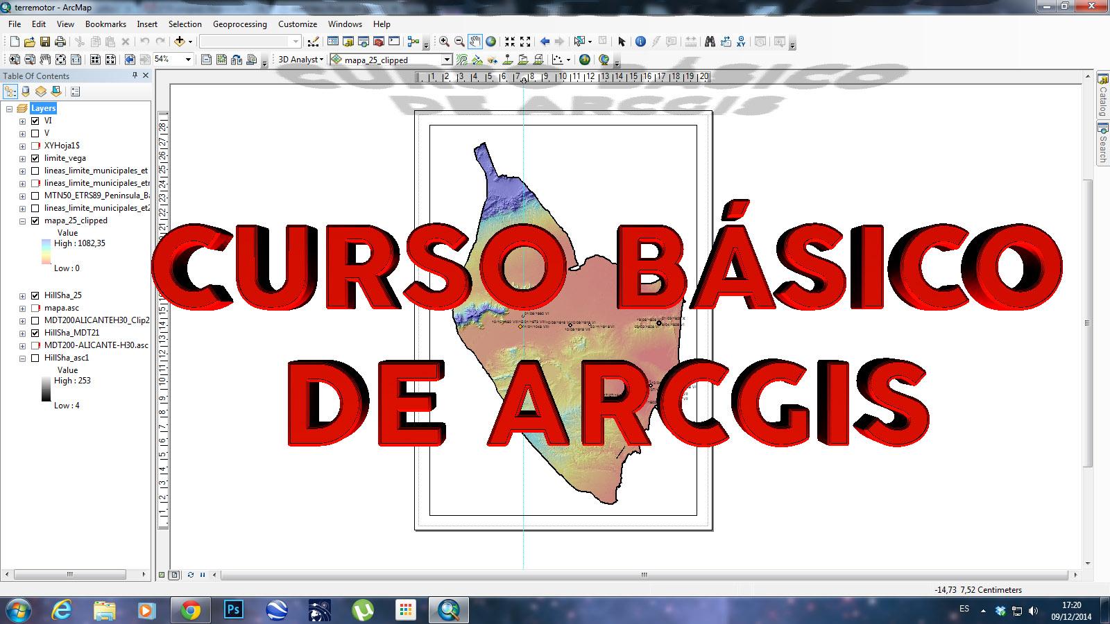 Curso básico de ArcGIS