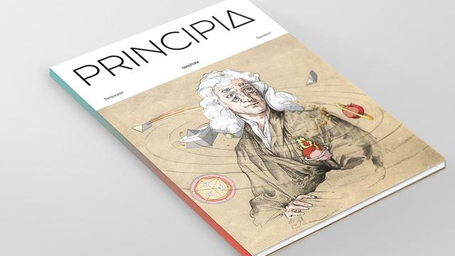 La portada de Principia