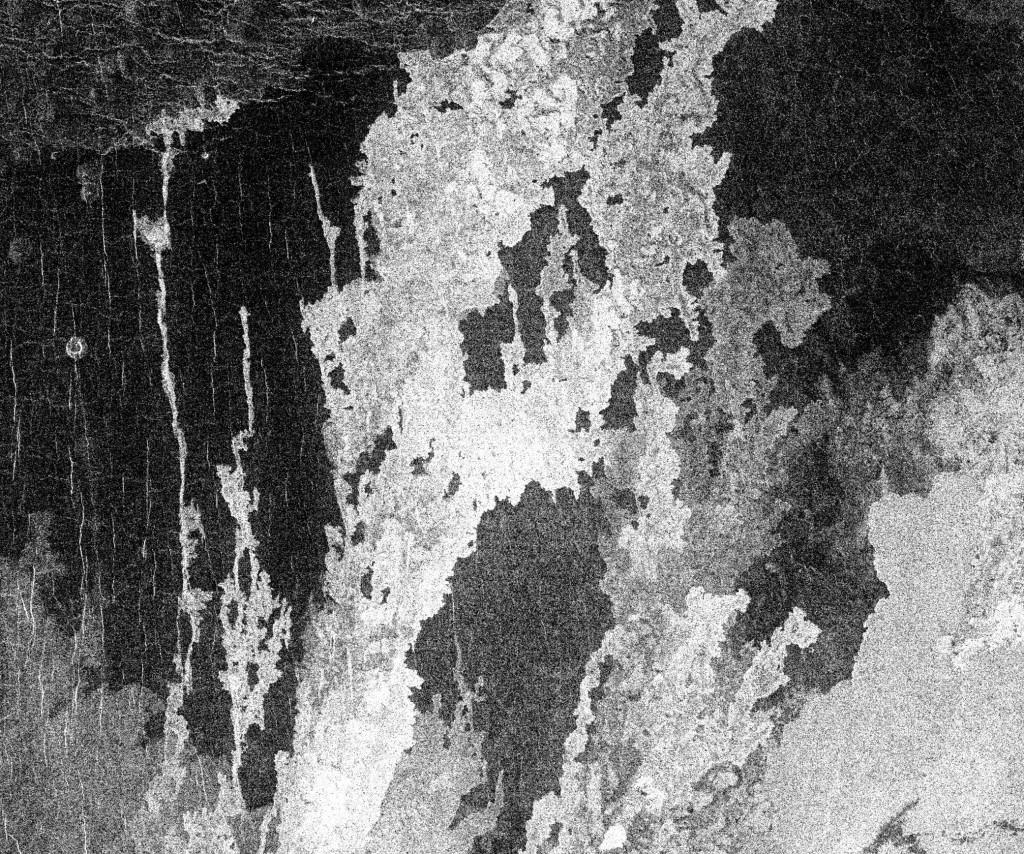 Múltiples coladas de lava descienden de Sif Mons, en Venus. NASA.