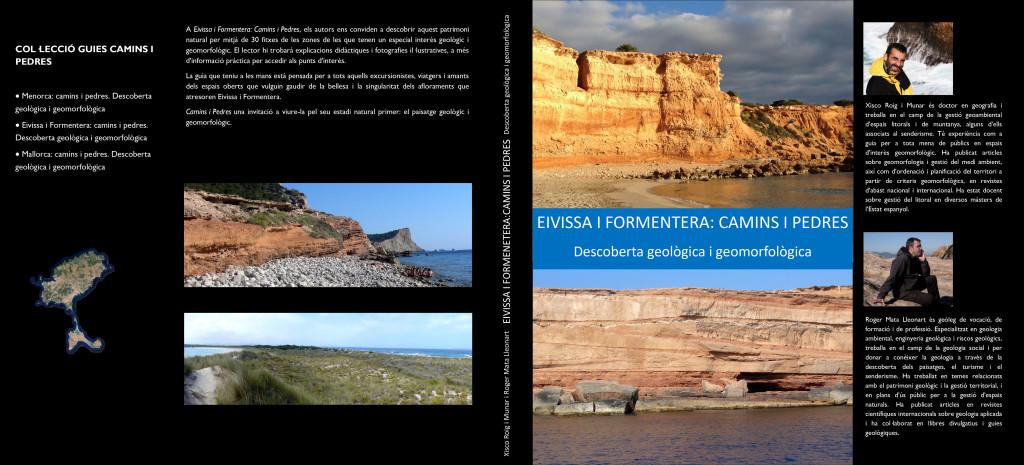 """Portada de """"Eivissa I Formentera: Camins i Pedres"""""""