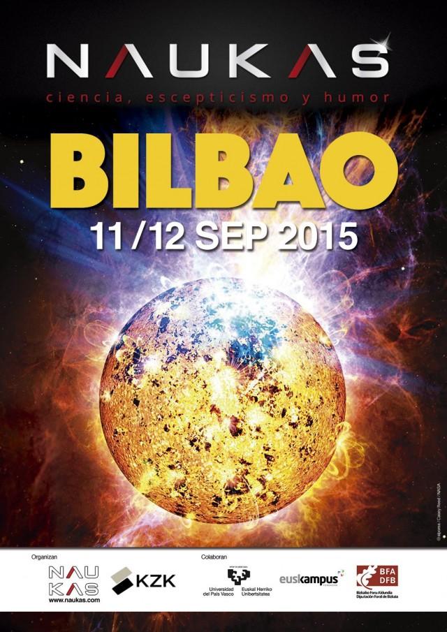 Cartel Naukas Bilbao 2015