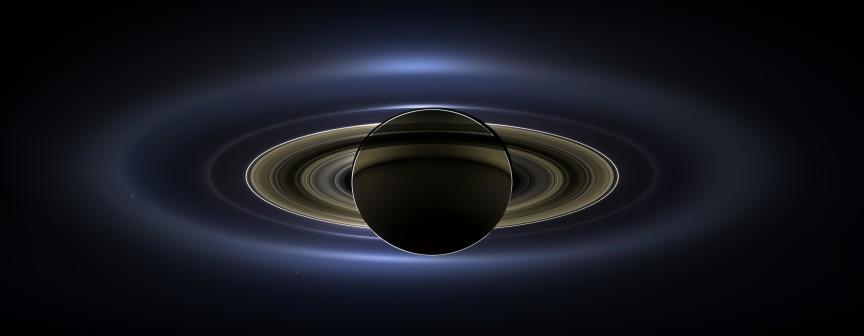 ¿Y si somos realmente afortunados de contemplar los anillos de Saturno? NASA/JPL-Caltech/SSI
